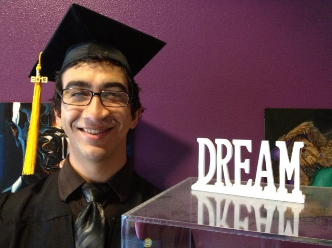 Conrad's Graduation, August 8, 2013